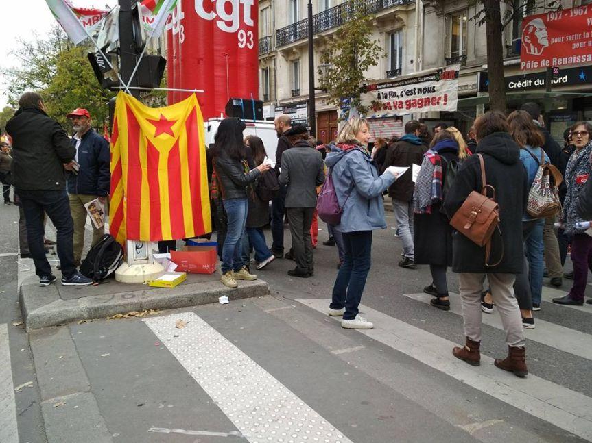 Pour une République Catalane démocratique, sociale et portée par lepeuple!
