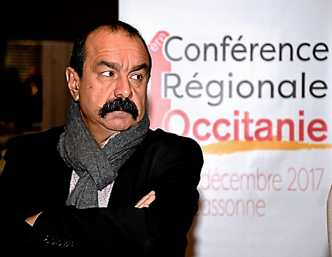 Philippe Martinez, secrétaire général CGT France