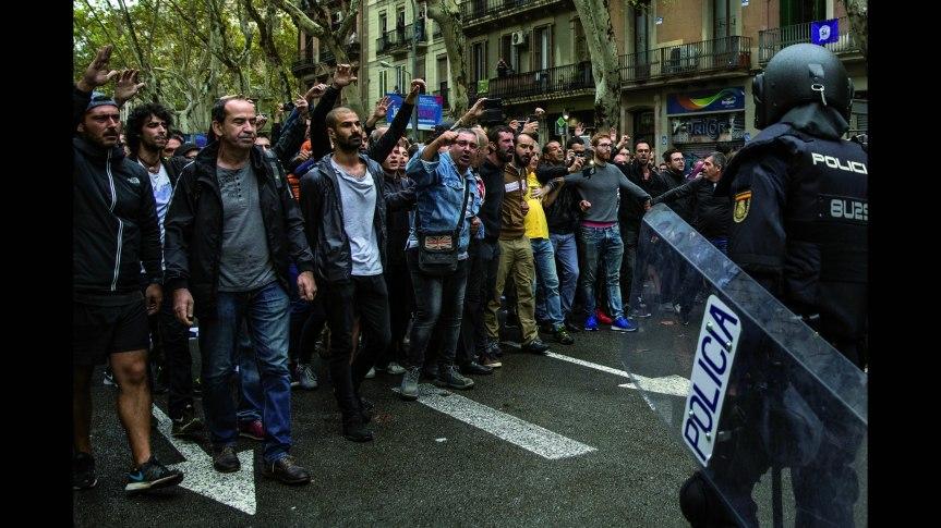 1 octobre en Catalogne