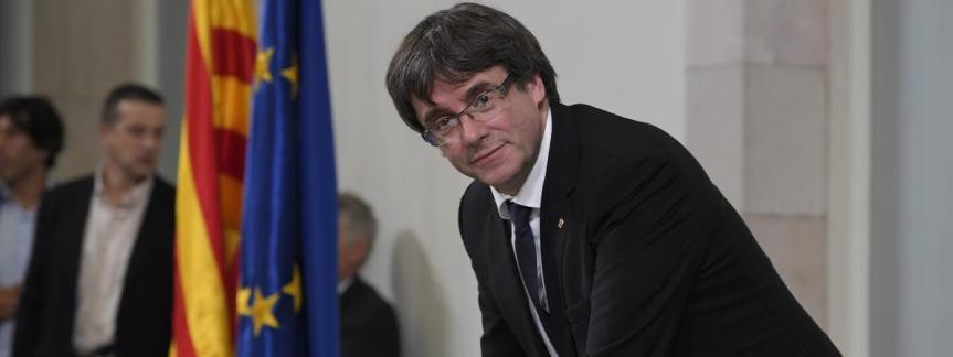 Puigdemont : « Je ne présente pas (temporairement) ma candidature à la présidence de la Generalitat de Catalogne»