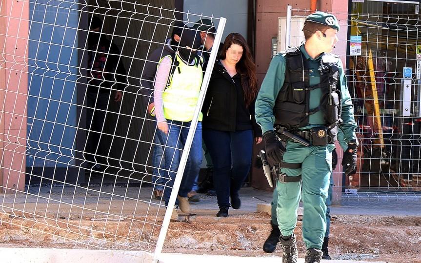 Opération de la Guardia Civil espagnole contre les CDR pour terrorisme etrébellion