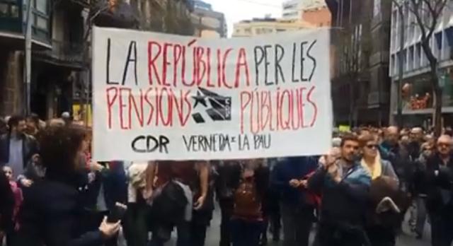 """Catalogne : Féroce répression des Comités de Défense de la République accusés de …""""terrorisme""""!"""