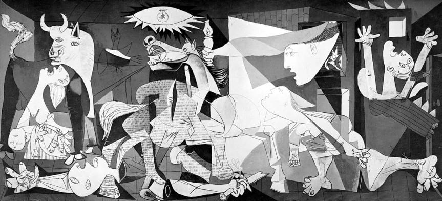 À l'occasion de l'exposition «Guernica» au Musée Picasso deParis