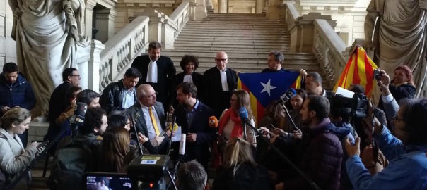 Les mandats d'arrêts contre des ex-ministres catalans ne seront pasexécutés