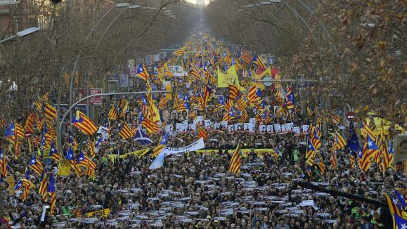 Micro européen. La Catalogne enquestion