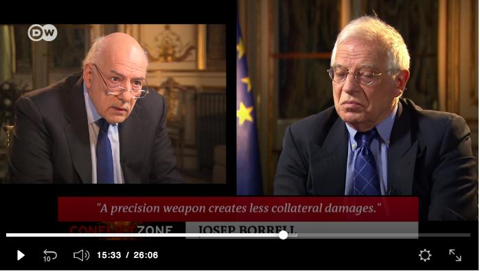 Le ministre des Affaires Etrangères espagnol malmené à la télévisionallemande