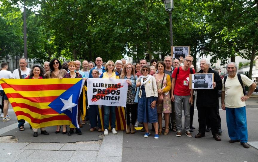 21 juin à Paris : Rassemblement pour la libération des prisonniers politiques catalans!