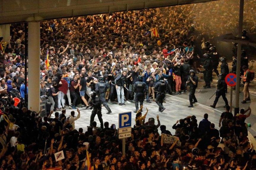 En Catalogne, une structure cachée derrière larévolte