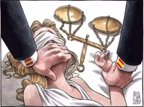 Catalogne. Des condamnations visant les droitsfondamentaux