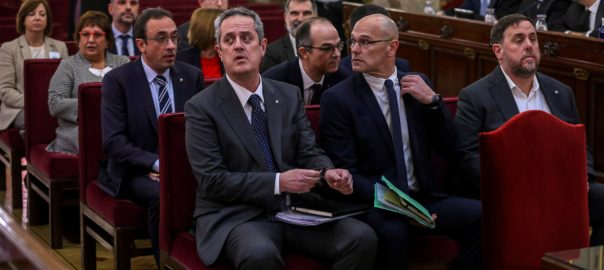 Derniers plaidoyers des prisonniers politiquescatalans