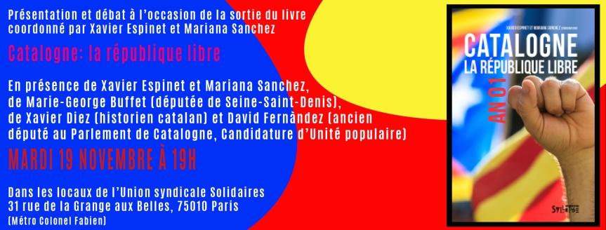 Présentation du livre «Catalogne : la république libre»