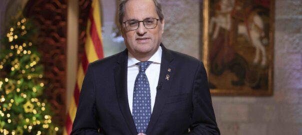 Le Président Torra rattache le dialogue à l'exercice du droit à l'auto-détermination