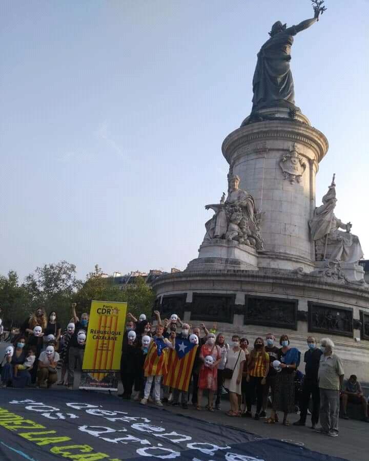 Rassemblement solidaire             mercredi 23 septembre à 18h30 Place de la République àParis