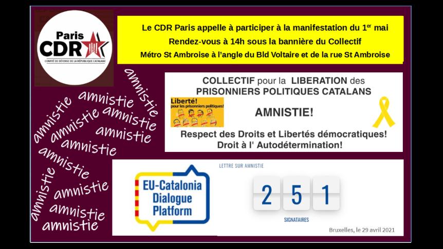 Manifestation du 1er mai2021