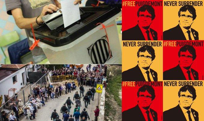 Rassemblement contre l'extradition de CarlesPuigdemont